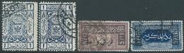 SAUDI ARABIA-ARABIA SAUDITA 1922 Hejaz , Mecca -Surcharged 1340 Lunar , Used - Arabie Saoudite