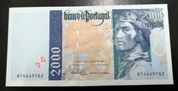 Portugal PAPEL NOTA 2000$00 CH 2 11 SETEMBRO 1997 - Portugal