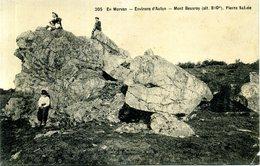 71 - En Morvan - Environs D'Autun - Mont Beuvray ; Pierre Salvée. - Autres Communes