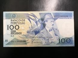 Portugal PAPEL NOTA 100$00 CH 9 FERNANDO PESSOA 3/12/1987 - Portugal