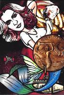 CPM Sous Marin Sirène Madonna Mermaid Jihel Tirage Signé 30 Exemplaires Numérotés Signés Jules VERNE - Entertainers