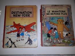 LOT DE JO ZETTE ET JOCKO - LE MANITOBA NE REPOND PLUS + DESTINATION NEW YORK 1957-B20 BIS - Jo, Zette & Jocko