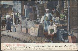Marchand Turc, Salut De Brousse, 1919 - CPA - Turkey