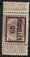 Brussel 1909 Typo Nr. 11B - Precancels