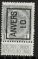 Antwerpen 1910 Typo Nr. 12A - Precancels