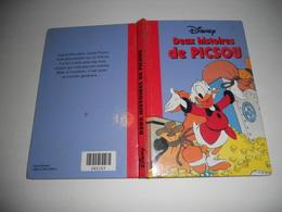 Deux Histoires De Picsou Lafete De Picsou Et Les Vacances De Picsou Bd Couverture Cartonne - Disney