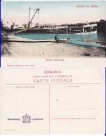Romania,Rumanien,Roumanie                -  Braila. Vapoare. Portul. Harbour, Danube, Donau - Roumanie