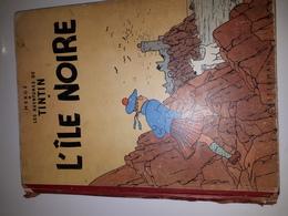 TINTIN ILE NOIRE- B09-1954-ETAT CORRECT - Tintin