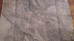 KARTE   K.U.K   TRIESTE  -TRST   66   X 53  CM - Documenti