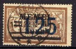 Memel (Klaipeda) 1922 Mi 50, Gestempelt [120119XXII] - Memelgebiet