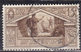 Regno D'Italia, 1930 - 15c Bimillenario Della Morte Di Virgilio, Ben Centrato - Nr.282 Usato° - Usati