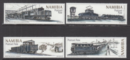 2017  Namibia Trains Railways Chemins De Fer Complete Set Of 4 MNH - Namibie (1990- ...)