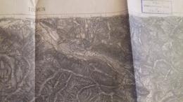 KARTE   K.U.K   TOLMEIN -TOLMIN  1882--   57   X  47   CM - Documenti