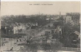 Carte Postale Ancienne De Lorient Le Cours Chazelles - Lorient