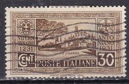 Regno D'Italia, 1931 - 30c Anniversario Della Morte Di S.Antonio, Ben Centrato - Nr.294 Usato° - Usati