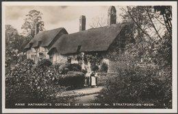 Anne Hathaway's Cottage At Shottery Near Stratford-on-Avon, C.1940 - Excel Series RP Postcard - Stratford Upon Avon