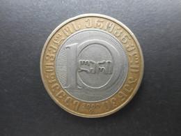 Georgia 10 Lari 2000 (3000 Years Of State System) - Géorgie