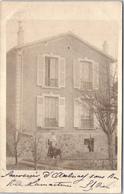 93 AULNAY SOUS BOIS - CARTE PHOTO - Maison Rue Lamartine - Aulnay Sous Bois