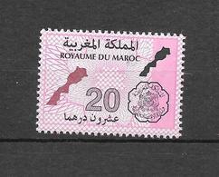 Timbre Fiscal à 20.00 Dhs. (Voir Commentaire) - Maroc (1956-...)