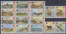ISLE OF MAN 12-27,unused - Isla De Man