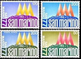 San Marino 1977 Serie Int. Stampexhibition San Marino '77 - Nuovi