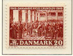 PIA - DANIMARCA -1949 : Centenario Della Costituzione     - (Yv 334) - Danemark