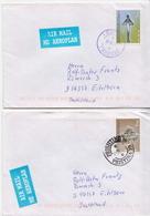 Postal History: Kosovo 2 Covers From 2000 With Prishtine And Prizren Cancels - Kosovo