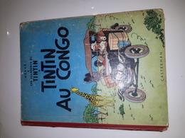 TINTIN AU CONGO-1956-B20-ETAT MOYEN - Tintin