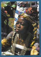 AFRIQUE EN COULEURS FOLKRORE AFRICAIN JEUNE DANSEUSE UNUSED - Cartoline