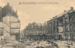 CPA - Belgique - Flandre Occidentale - Ruines De Middelkerke 1914-18 - Rue Paul De Smet-de-Naeyer - Middelkerke