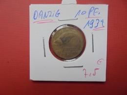 DANZIG(DEUTSCH) 10 PFENNIG 1932 - Pologne