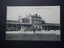 Carte Postale -  GRENOBLE (38) - La Gare PLM - (2548) - Grenoble