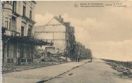 CPA - Belgique - Flandre Occidentale - Ruines De Middelkerke 1914-18 - La Digue - Middelkerke