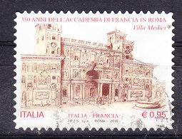 2016 ACCADEMIA DI FRANCIA  USATO - 6. 1946-.. Repubblica