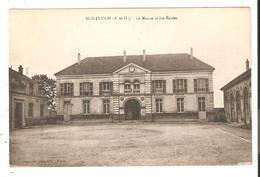 CPA 78 MONTESSON La Mairie Et Les Ecoles - Montesson