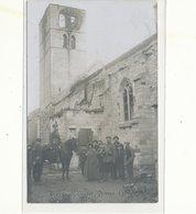 Humbeek Grimbergen  Oorlog 1914 Foto Photo  Kerk Militair - Grimbergen