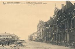 CPA - Belgique - Flandre Occidentale - Ruines De Middelkerke 1914-18 - Digue Et Kursaalvers Ostende - Middelkerke