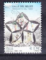 2018 TERREMOTO BELICE  USATO - 6. 1946-.. Repubblica
