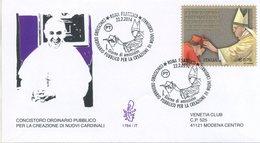 ITALIA - FDC  VENETIA  2014 - MARTINO MARTINI - VIAGGIATA - ANNULLO SPECIALE - 1946-.. République