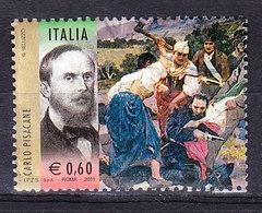 2011 CARLO PISACANE RISORGIMENTO USATO Da Foglietto - 6. 1946-.. Repubblica