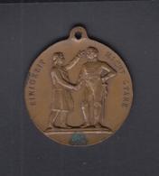 Dt. Reich Polen Poland Medaille Kolberg 1907 Einigkeit Macht Stark - Allemagne