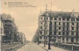 CPA - Belgique - Flandre Occidentale - Ruines De Middelkerke 1914-18 - Place Et Avenue Léopold Vers Westende - Middelkerke