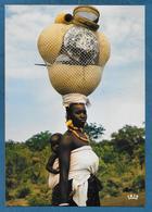 AFRIQUE EN COULEURS MERE AFRICAINE UNUSED - Cartoline