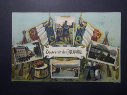 Carte Postale -  GRENOBLE (38) - Multi Vues - Souvenir De ... - (2554) - Grenoble