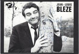 Autographe Signature à L'encre Jean Louis BLEZE - Autographes