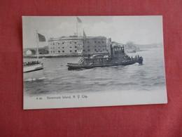 Tugboats  Rotograph  Governors Island  NY City     Ref 3126 - Rimorchiatori