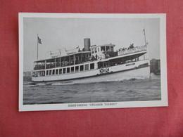 Sight Seeing  Steamer Tourist   NY City     Ref 3126 - Schlepper