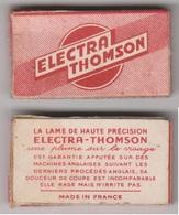 Lames De Rasoir ELECTRA THOMSON. Paquet Neuf De 5 Lames. - Lames De Rasoir