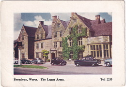 Broadway, Worcs. : FORD CONSUL/ZEPHYR '51, ANGLIA '49, SUNBEAM-TALBOT 90 - The Lygon Arms - Toerisme