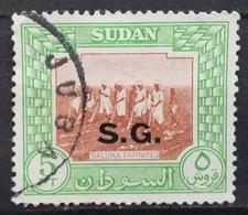 1951 SUDAN Saluka Farming Overprint SG - Soudan (1954-...)